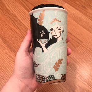 Cute Starbucks to go mug